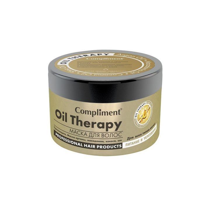 Маска д/волос Compliment 500мл Oil Therapy Питание и укрепление