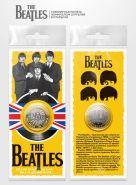 10 РУБЛЕЙ - The Beatles, гравировка, в открытке