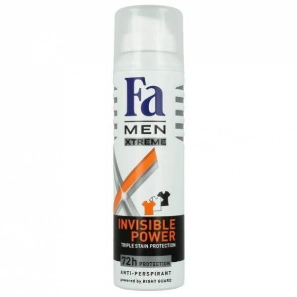 Дезодорант Fa 150мл MEN Xtreme Invisible Power