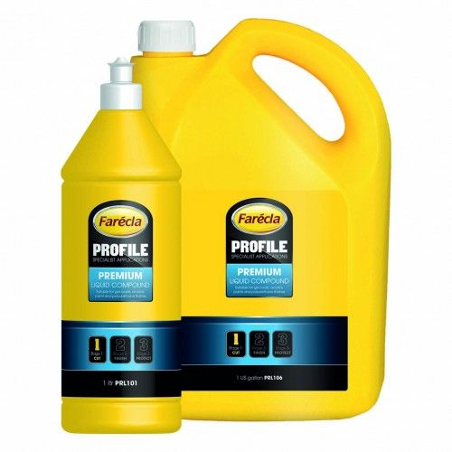 FARECLA Profile Premium Liquid Полировальная эмульсия 1 US галлон, 3,8л.