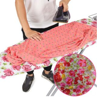 Чехол для гладильной доски, 140х50 см, Узор: Мелкие цветы-2