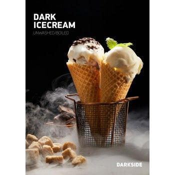 Dark Side Dark Ice Cream Medium