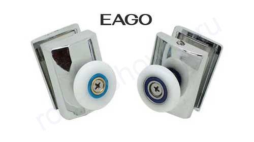 Ролик  VH022-1 (комплект 4шт) для кабин  EAGO Диаметр колеса 26мм.