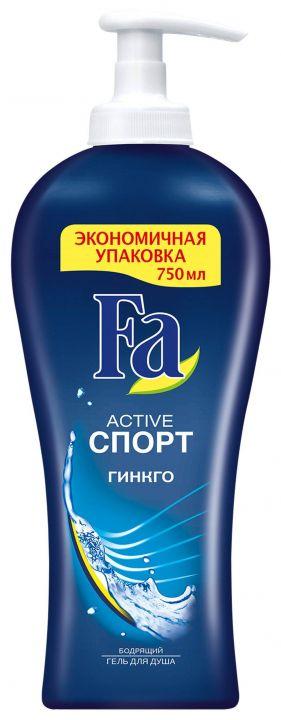 Гель д/душа Fa 750мл MEN Спорт