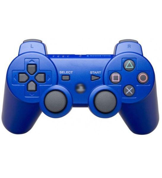 Джойстик беспроводной для Playstation 3 (синий) Ps3