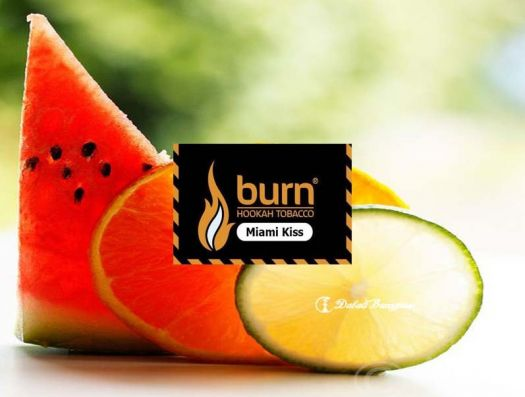 Burn - Miami Kiss (спелый арбуз с цитрусами и лакрицей)