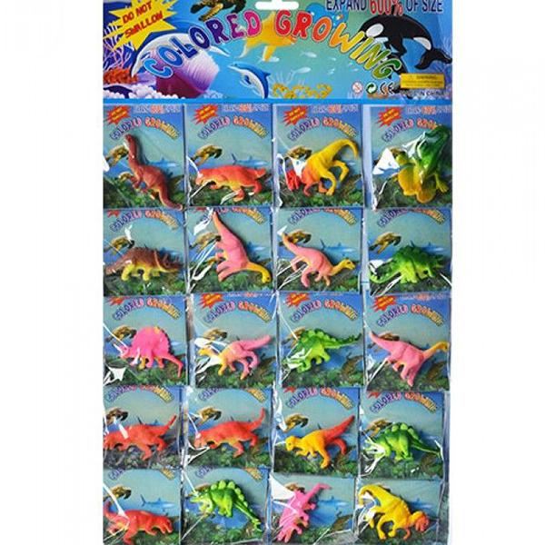 Фигурки, растущие в воде, Динозавры, количество 1 Шт