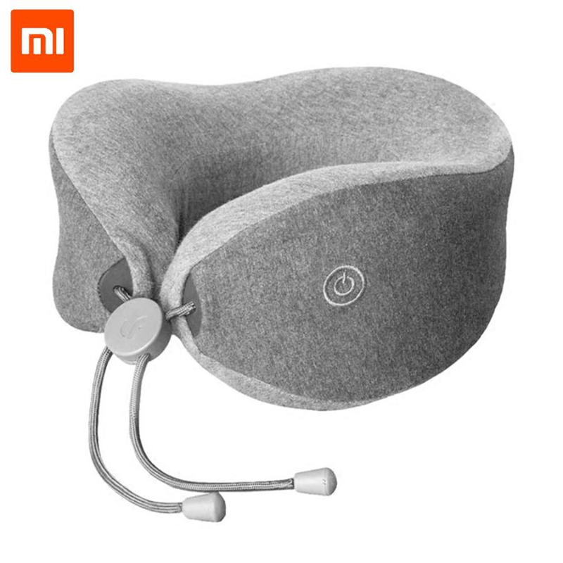 Массажер-подушка для шеи Xiaomi Lefan Comfort-U Pillow Massager LRS100 (Grey)