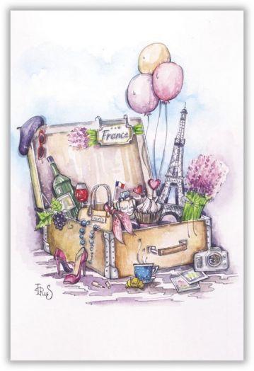 Франция в чемодане