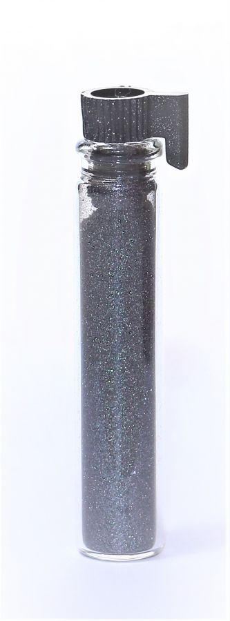 Блестки (посыпка для ногтей) цвет черный