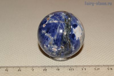 Шар из камня содалит (40мм)