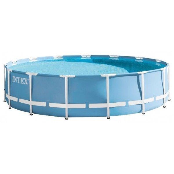 Каркасный бассейн Intex Prism Frame 26726 (457х122) с картриджным фильтром