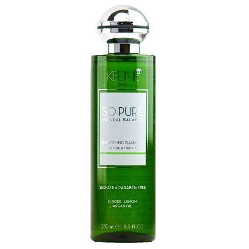 Keune So Pure Шампунь Тонизирующий Energizing Shampoo, 250 мл.