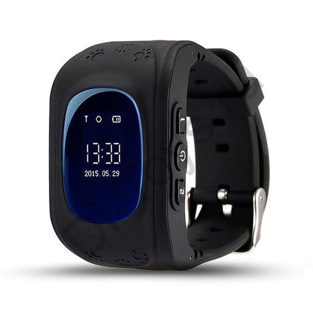 Детские часы smart baby watch q50 черные