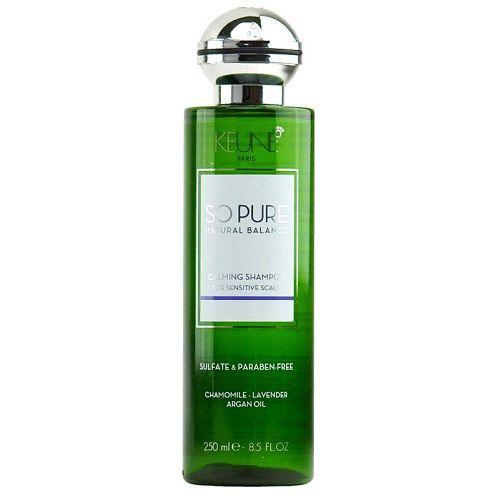 Keune So Pure Шампунь Успокаивающий Calming Shampoo, 250 мл.