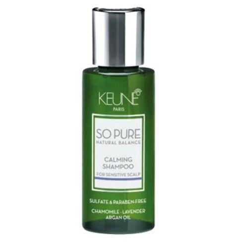 Keune So Pure Шампунь Успокаивающий Calming Shampoo, 50 мл.