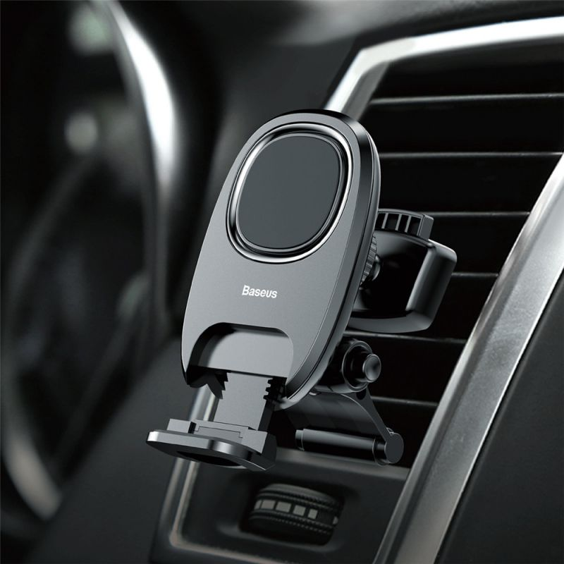 Держатель Baseus Xiaochun Magnetic Car Phone Holder чёрный (SUCH-01)