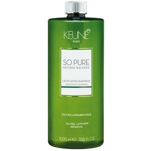 Keune So Pure Шампунь обновляющий Exfoliating Shampoo, 1000 мл.