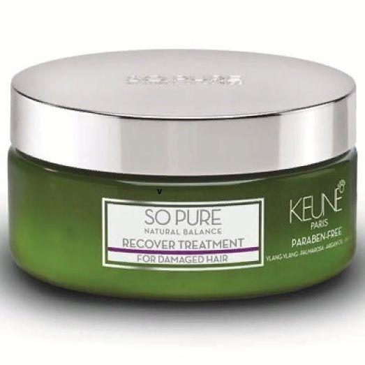 Keune So Pure Маска Восстанавливающая Recover Treatment, 200 мл.
