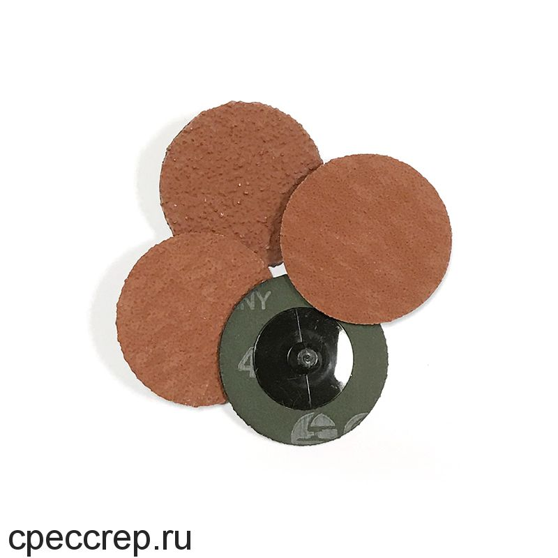 RoxelPro Зачистной круг ROXPRO QCD 50мм, керамика, Р40