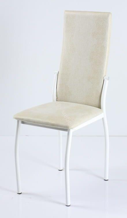 "Кухонный стул ""B-610"" Белый нубук/Белый"