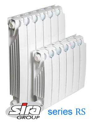 Биметаллический радиатор SIRA RS 800 / 12 cекции