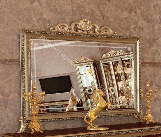 """Зеркало """"Версаль"""" ГВ-06 с короной"""