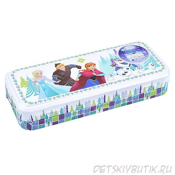 Игровой набор детской декоративной косметики в пенале - Frozen Markwins