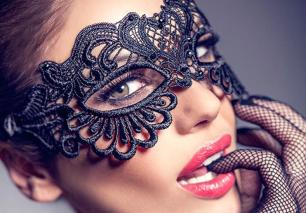 кружевная маска, модель 473