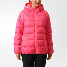 Женская куртка adidas Cozy Down Jacket розовая