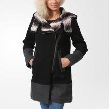 Женская куртка adidas Material Mix Parka чёрная