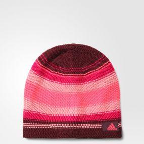 Женская шапка adidas Climaheat New Beani красная