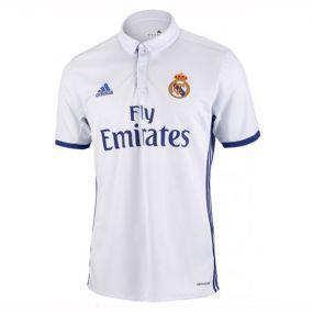Детская игровая футболка клуба adidas Real Home Jersey белая