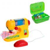 Швейная машинка с аксессуарами «Помогаю маме»