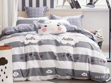 Комплект постельного белья Поплин  PC  семейный  Арт.41/063-PC