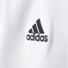 Детская футболка-поло adidas Tiro 17 Cotton Polo белая