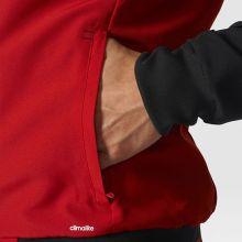 Парадная куртка adidas Tiro 17 Presentation Jacket чёрно-красная