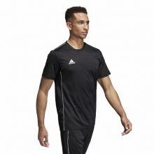 Детская спортивная футболка для тренировок adidas Core 18 чёрная