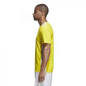 Детская игровая футболка adidas Entrada 18 жёлтая