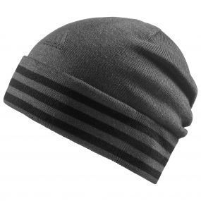Шапка adidas Essentials 3-Stripes Woolie тёмно-серая