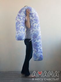J-Спальная система «Можно положиться» 240см, голубые цветы на белом