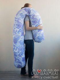 J-Спальная система «Можно положиться» 270см., голубые цветы на белом