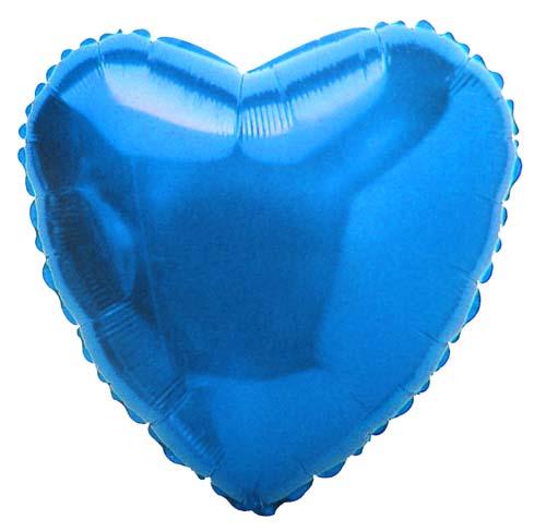 Сердце синие