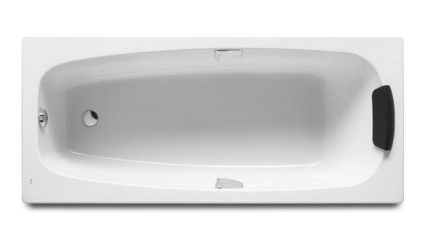 Ванна акриловая Roca Sureste ZRU9302787 160х70 см, белая