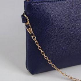 Цепочка для сумки, 120 см, 0,5 см, цвет золотой