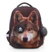"Рюкзак ранец  ""Ergonomic. Wolf"" 37х29х17см, EVA материал, светоотраж., 2 отд., 2 кармана (арт. NRk_30050)"