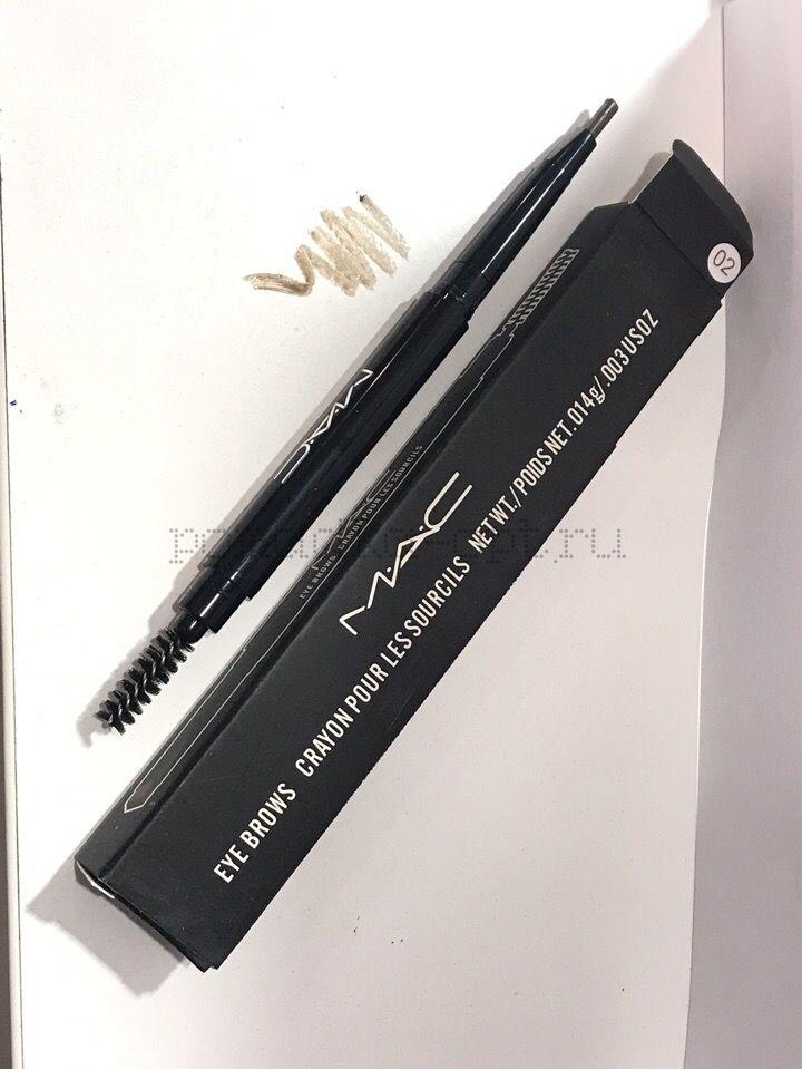 МС карандаш для бровей 02