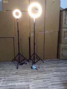 Кольцевая лампа для визажистов фотографов и блогеров