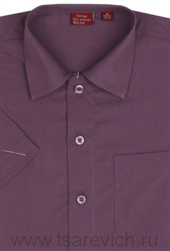 Рубашка с коротким рукавом, оптом 10 шт., артикул: Orhid-k