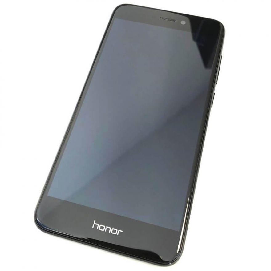 Дисплей в сборе с сенсорным стеклом, корпусом и аккумулятором для Huawei Honor 8 Lite (Original)